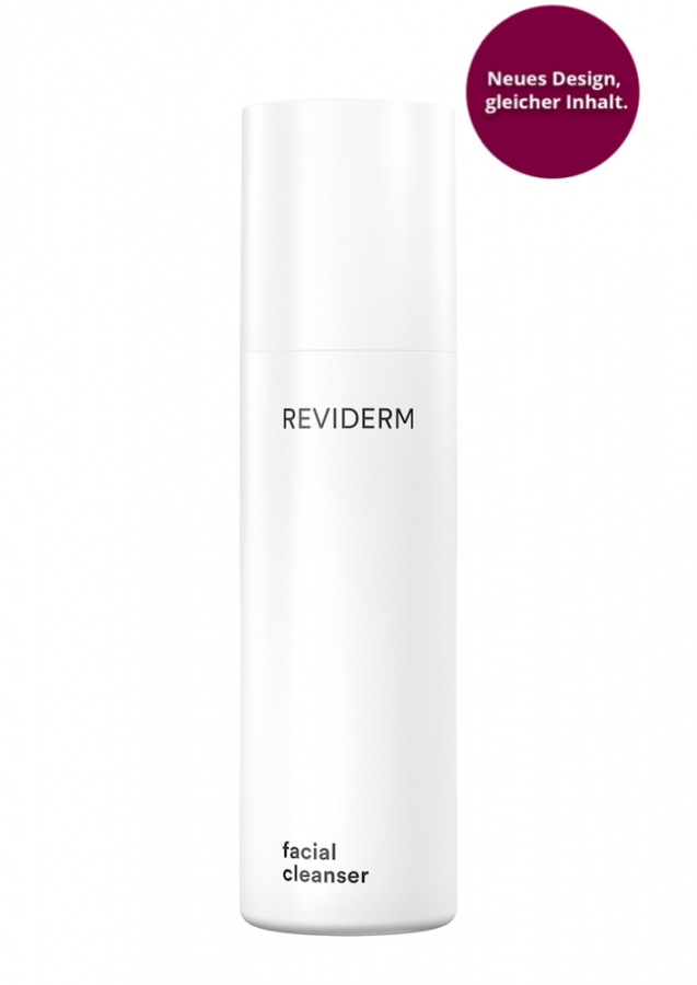 Reviderm facial cleanser